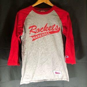 Rockets Champion Baseball Tee